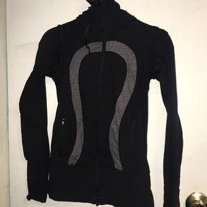 Black Lulu Lemon sweater